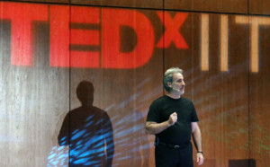 Bob Roitblat, speaking at TEDxIIT